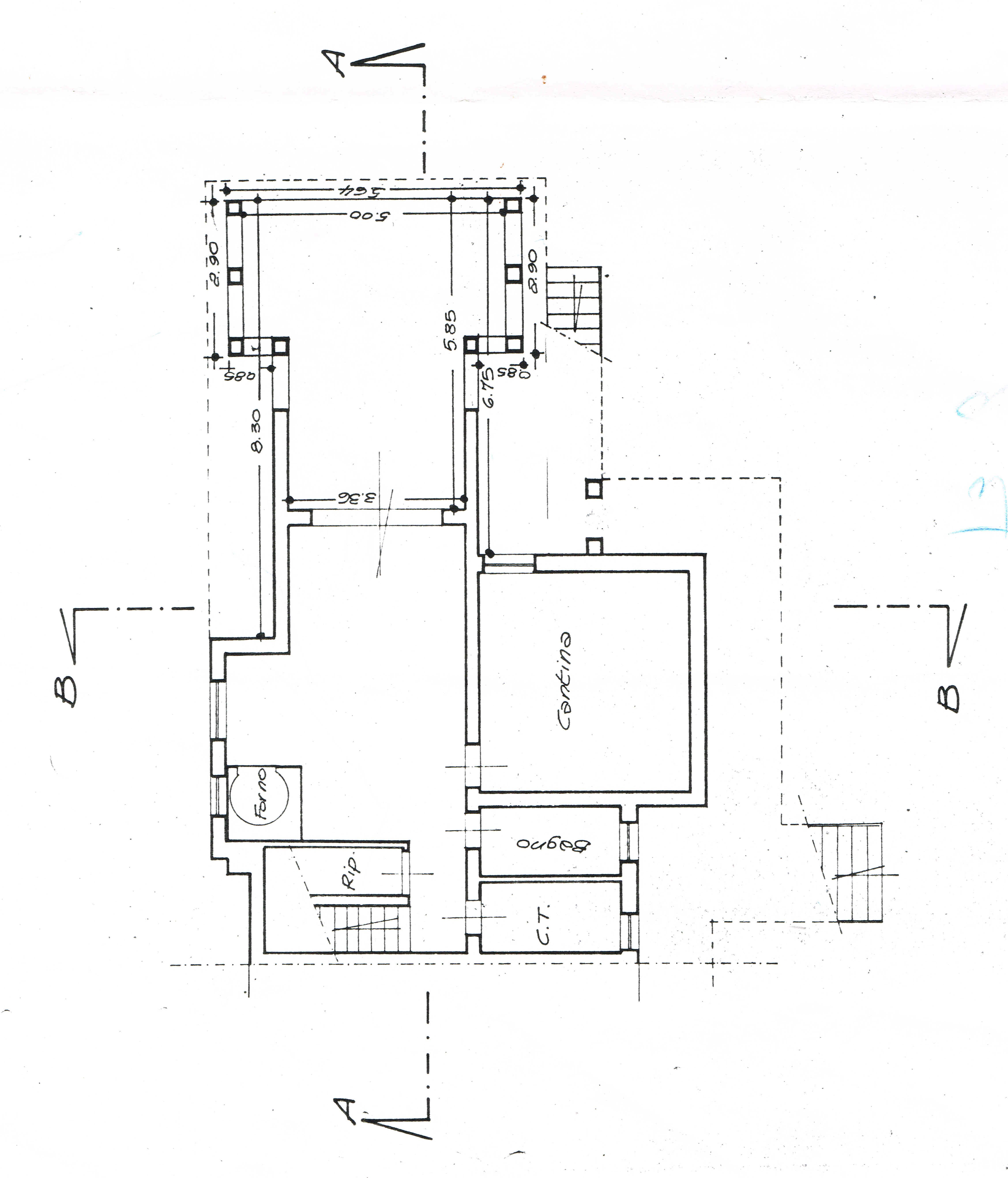Planimetria 3/3 per rif. 2671