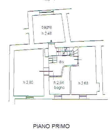 Planimetria 2/3 per rif. 2689