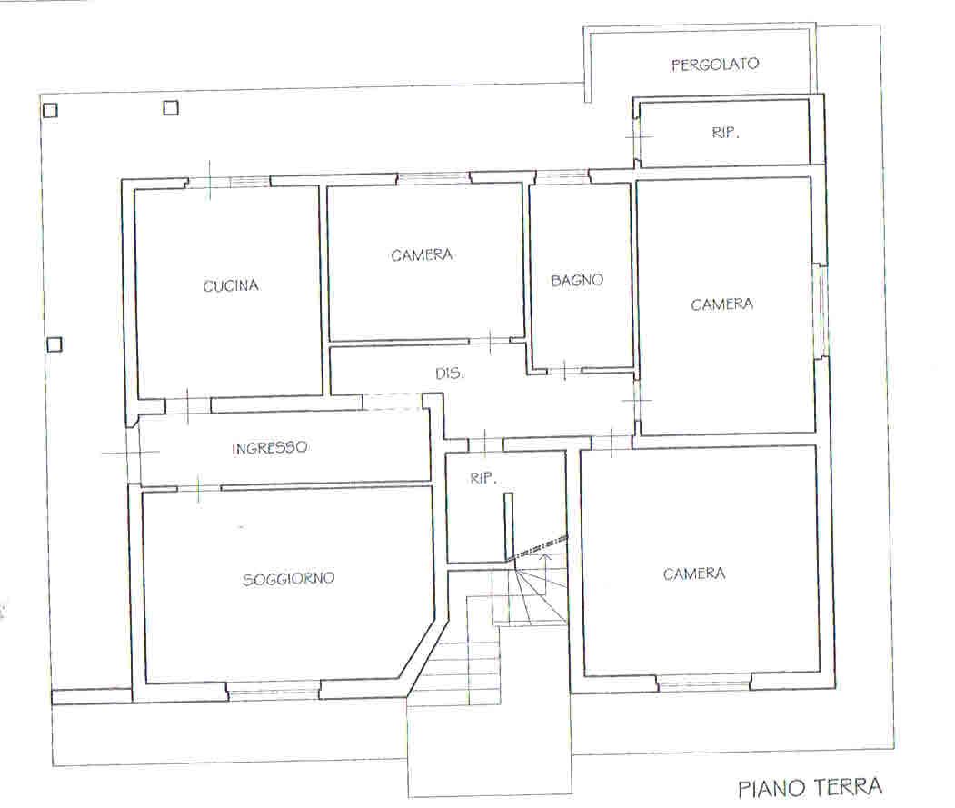 Planimetria 1/3 per rif. 2690