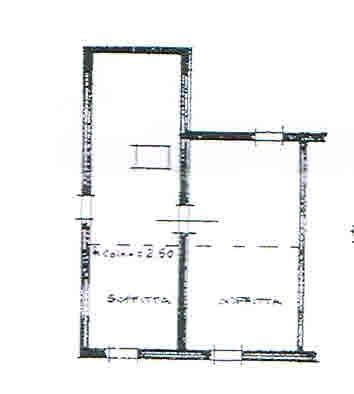 Planimetria 3/3 per rif. 2694