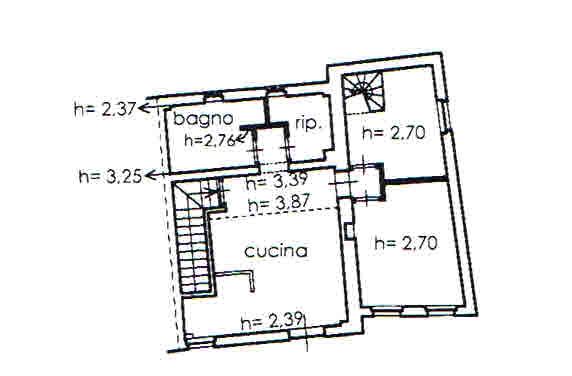 Planimetria 1/2 per rif. 2702