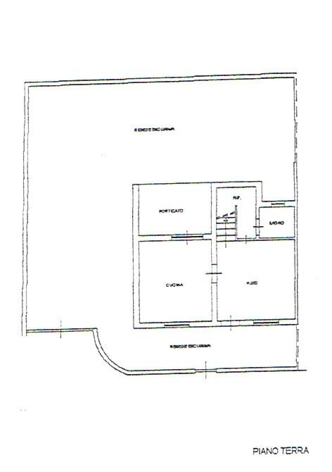 Planimetria 1/3 per rif. 2711