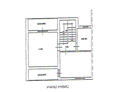Planimetria 2/3 per rif. 2711