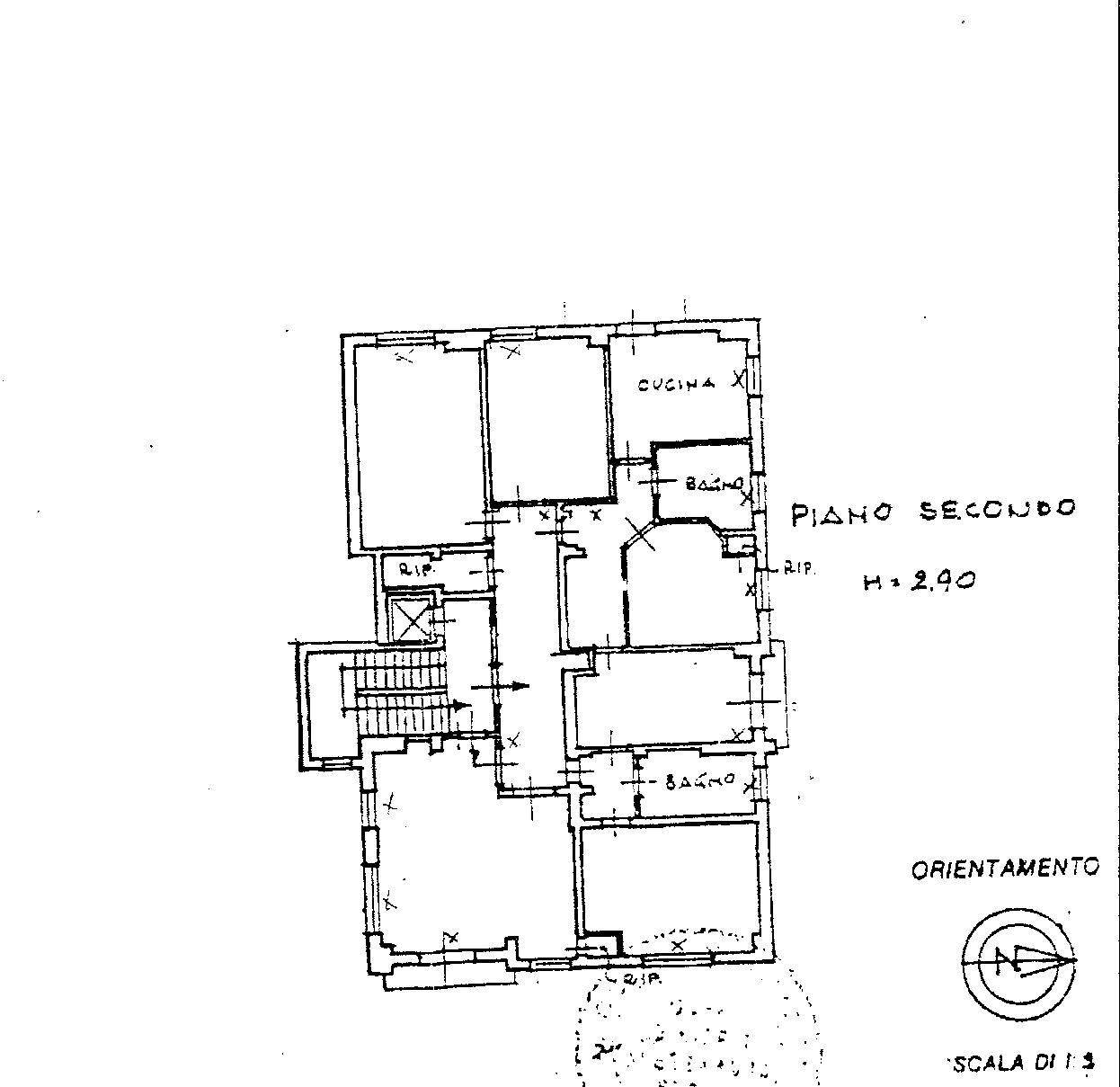 Planimetria 1/1 per rif. 198