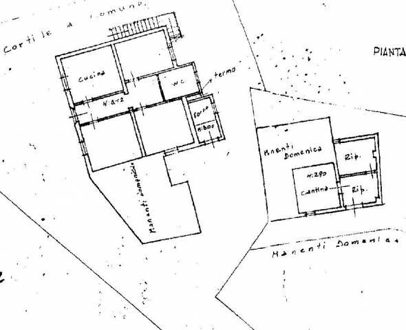 Planimetria 1/2 per rif. 263