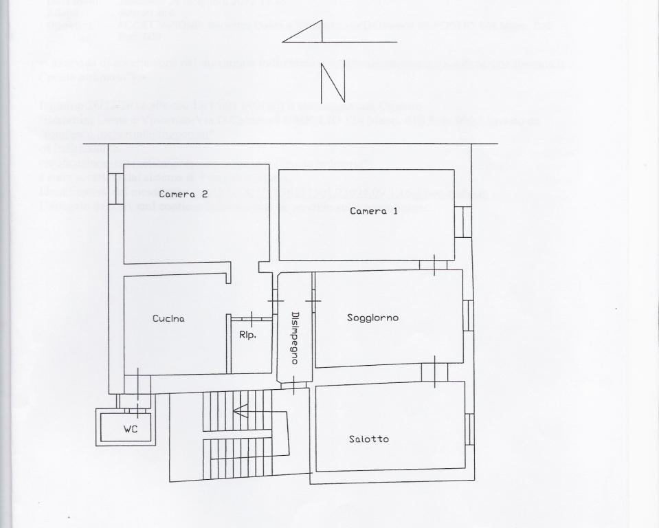 Planimetria 1/1 per rif. 154