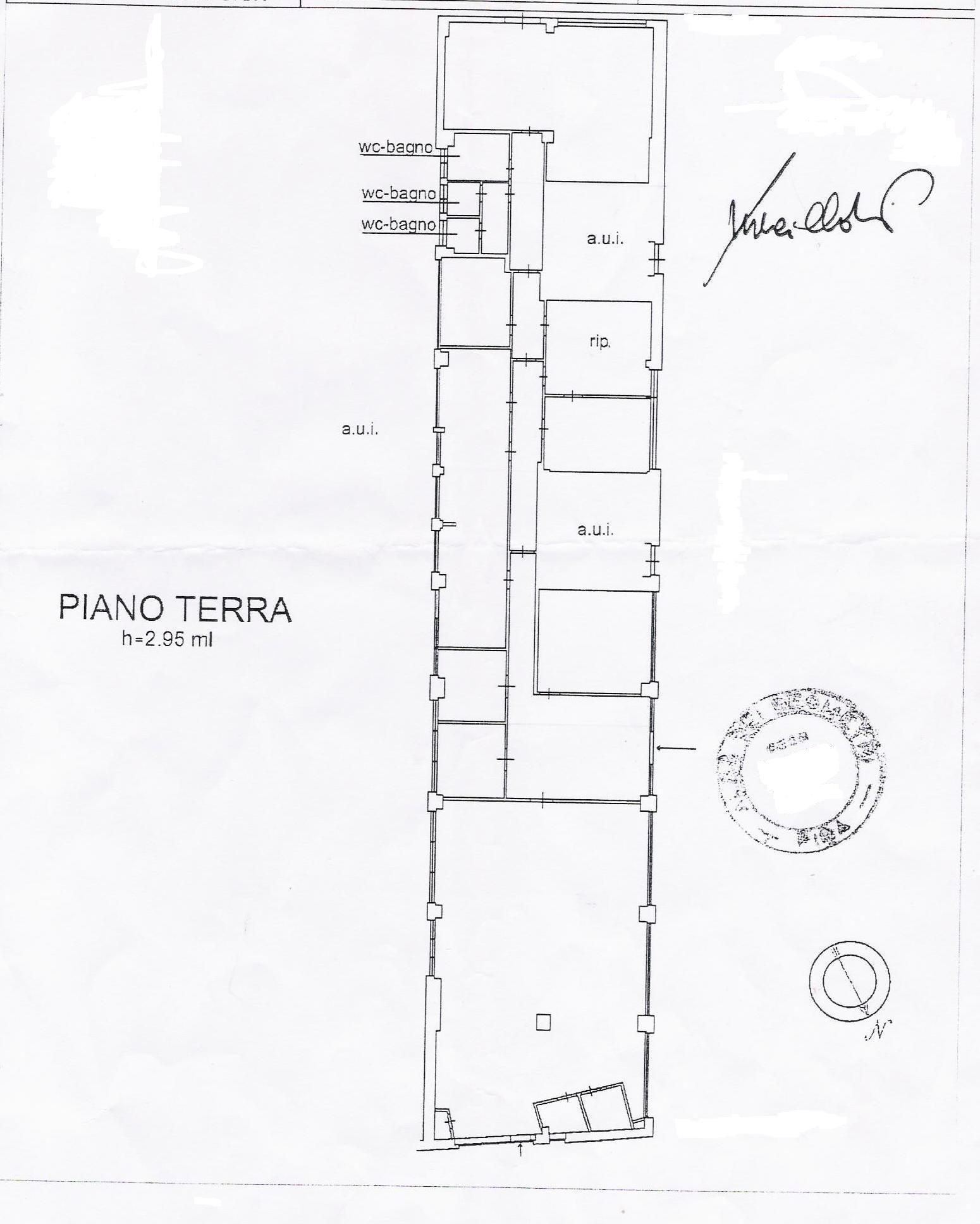 Planimetria 1/1 per rif. VFC010
