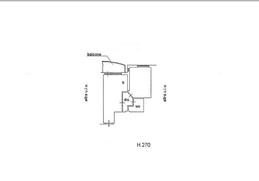 Planimetria 1/1 per rif. 021