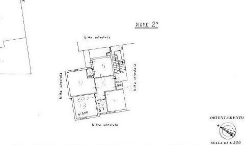 Planimetria 1/1 per rif. A392