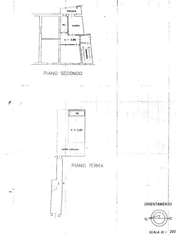 Planimetria 1/1 per rif. 326
