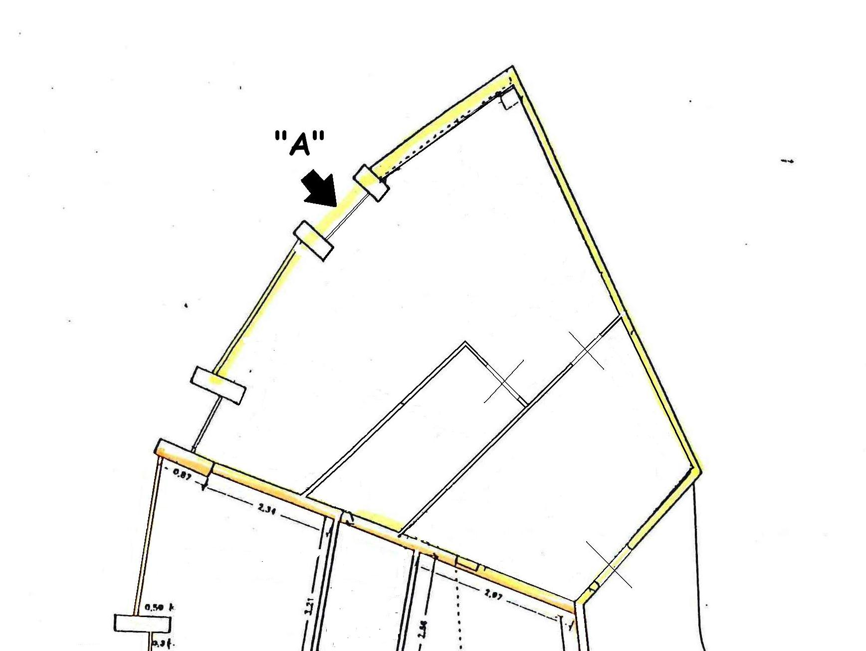 Planimetria 1/1 per rif. AFA008