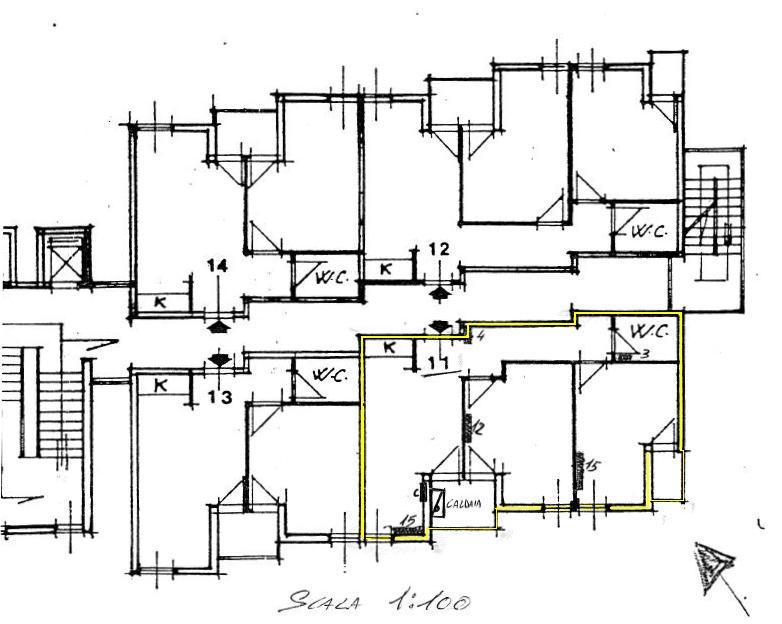 Planimetria 1/1 per rif. 423