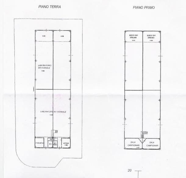 Planimetria 1/1 per rif. AFA007