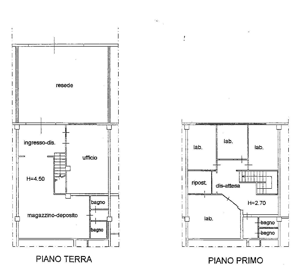 Planimetria 1/1 per rif. VFA005