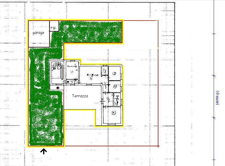 Planimetria 1/1 per rif. 392