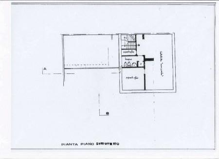 Planimetria 3/4 per rif. 305