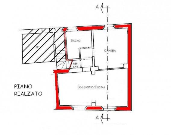 Planimetria 1/1 per rif. 416