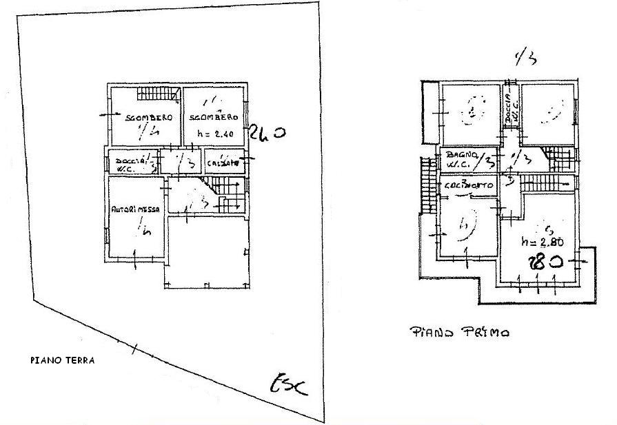 Planimetria 2/2 per rif. 408