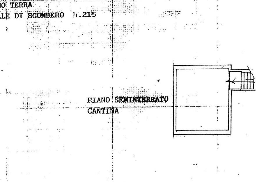 Planimetria 3/4 per rif. 299