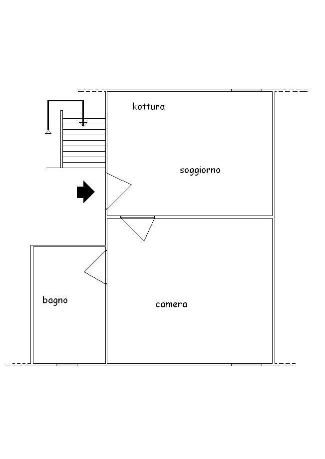 Planimetria 1/1 per rif. A403