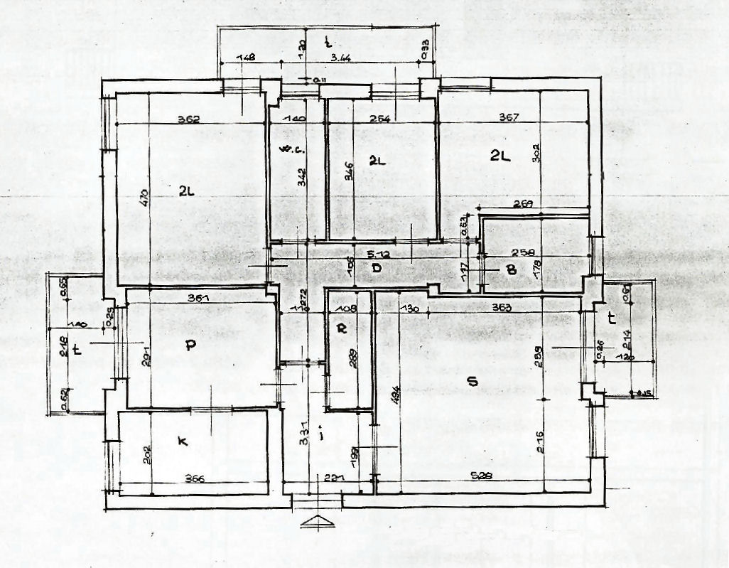 Planimetria 1/1 per rif. IA5086