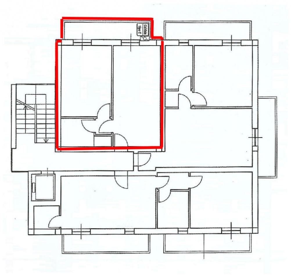 Planimetria 1/1 per rif. IA5072