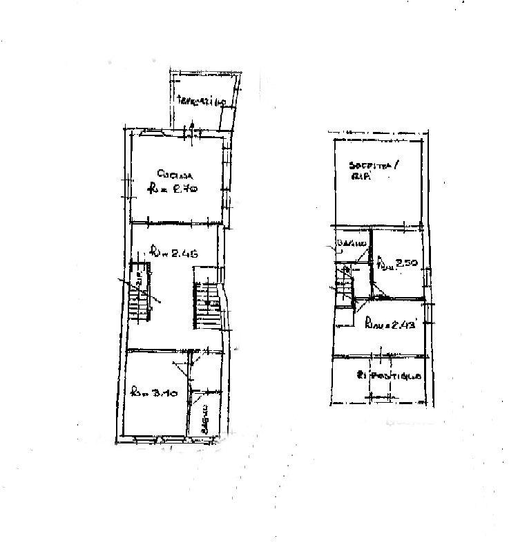 Planimetria 1/1 per rif. IA5052