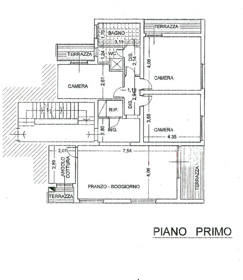 Planimetria 1/1 per rif. IA5027