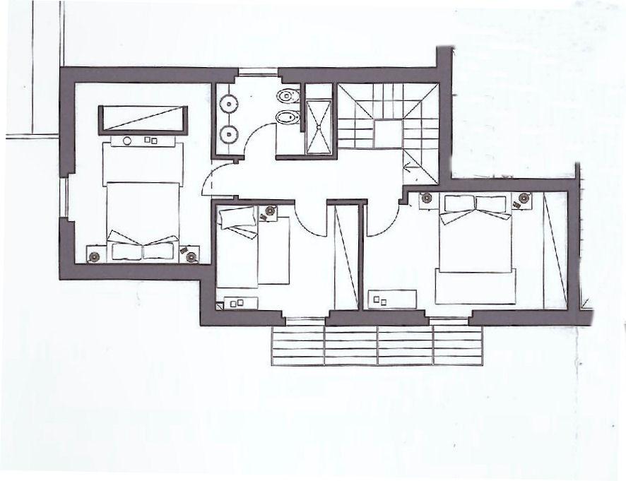 Planimetria 1/2 per rif. IA5009