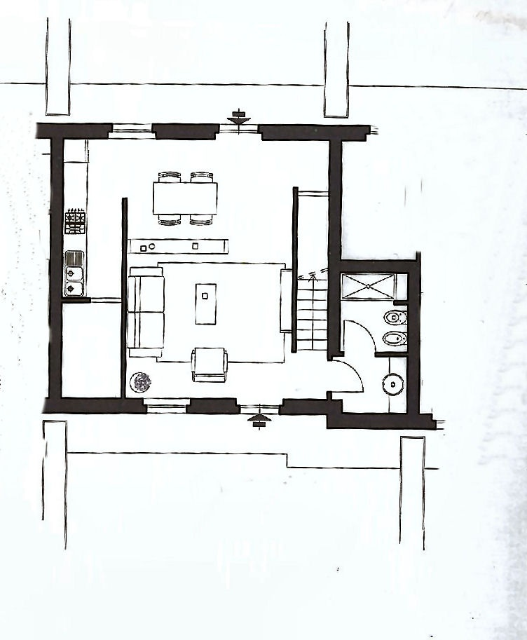 Planimetria 1/2 per rif. IA5006