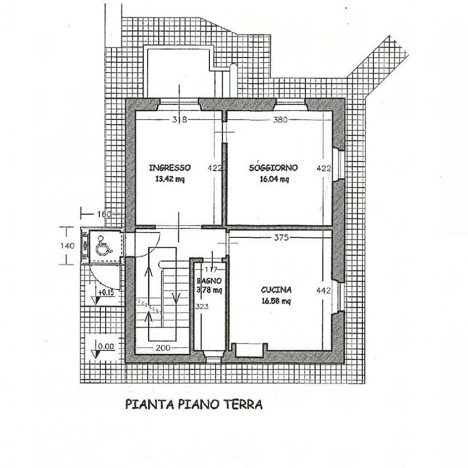 Planimetria 2/2 per rif. IA4988