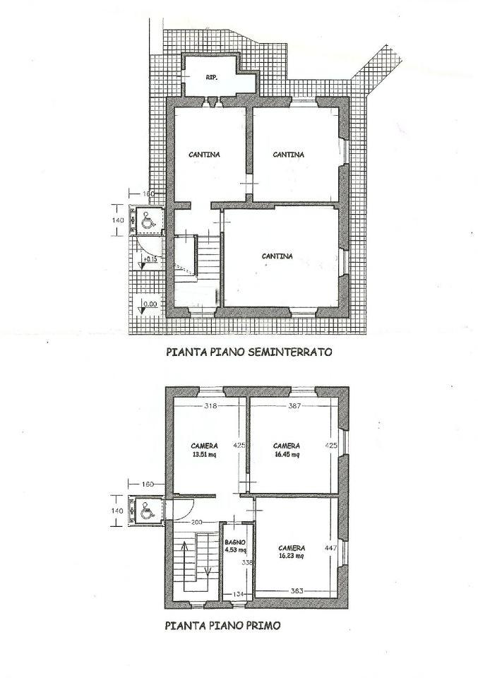 Planimetria 1/2 per rif. IA4988