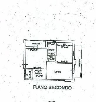 Planimetria 1/1 per rif. IA4884
