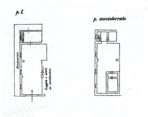 Planimetria 1/1 per rif. UF223