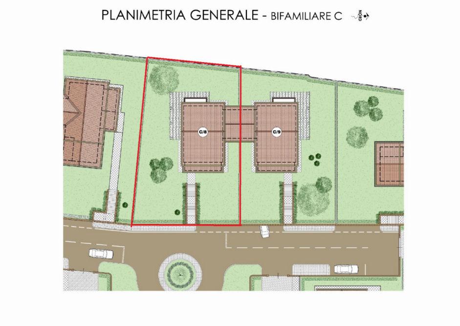 Planimetria 1/4 per rif. IA4813