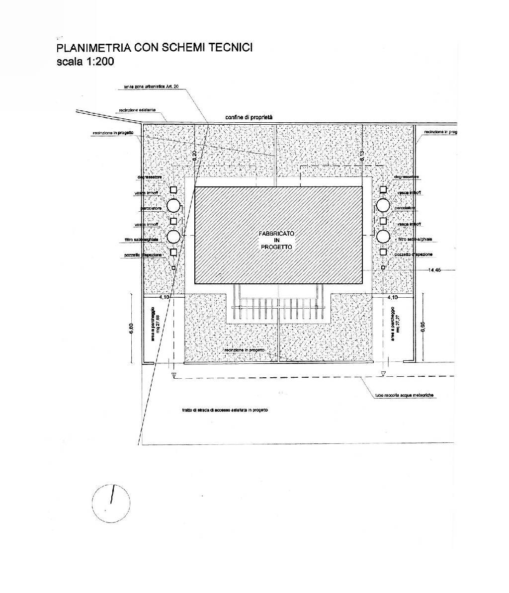 Planimetria 1/4 per rif. IA4731