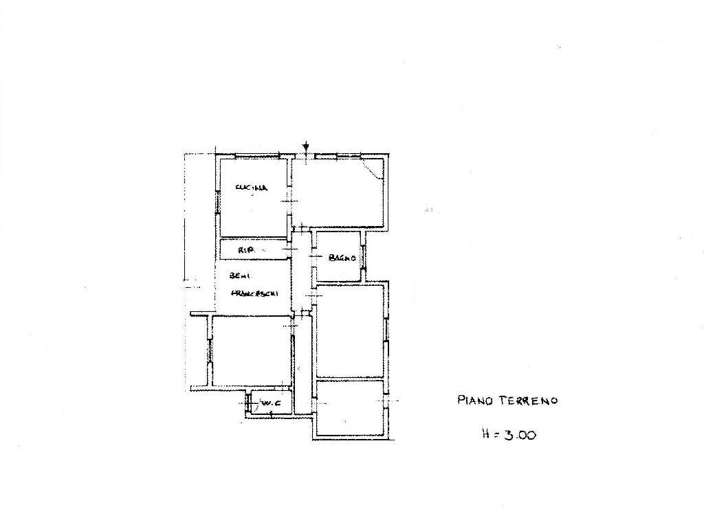 Planimetria 1/1 per rif. IA4729