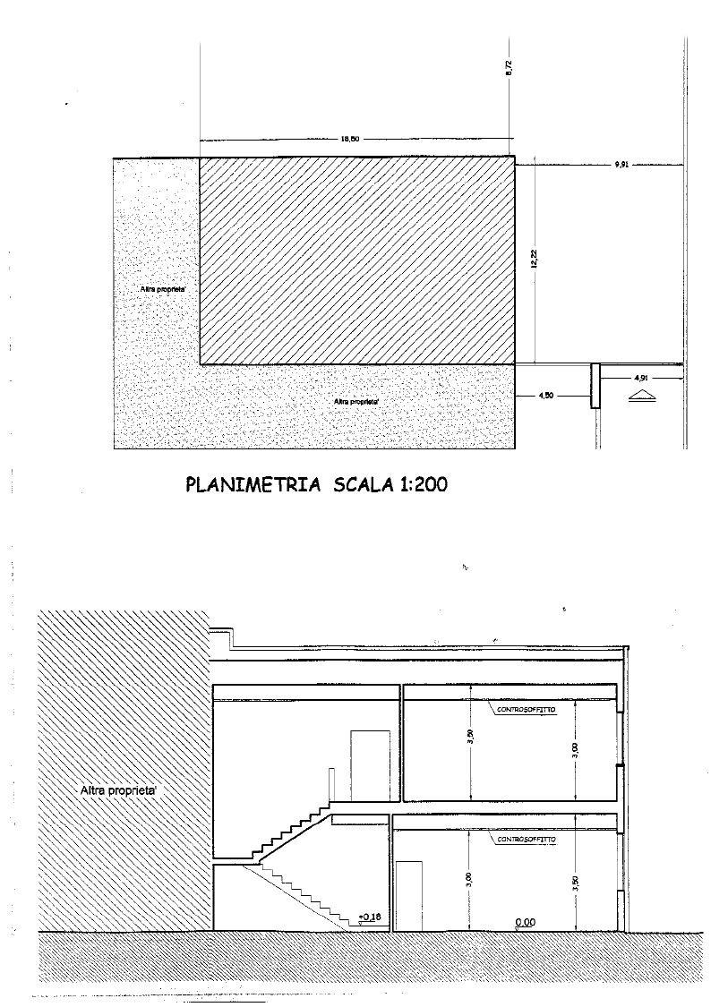 Planimetria 2/2 per rif. UF217