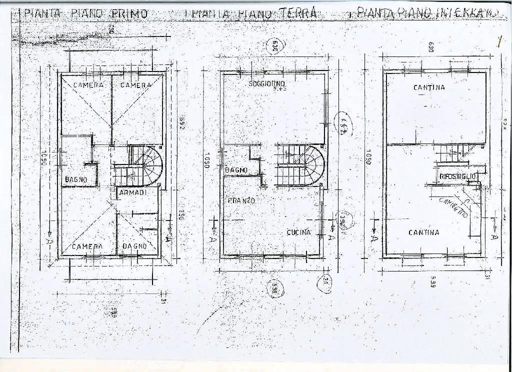 Planimetria 1/1 per rif. IA4691
