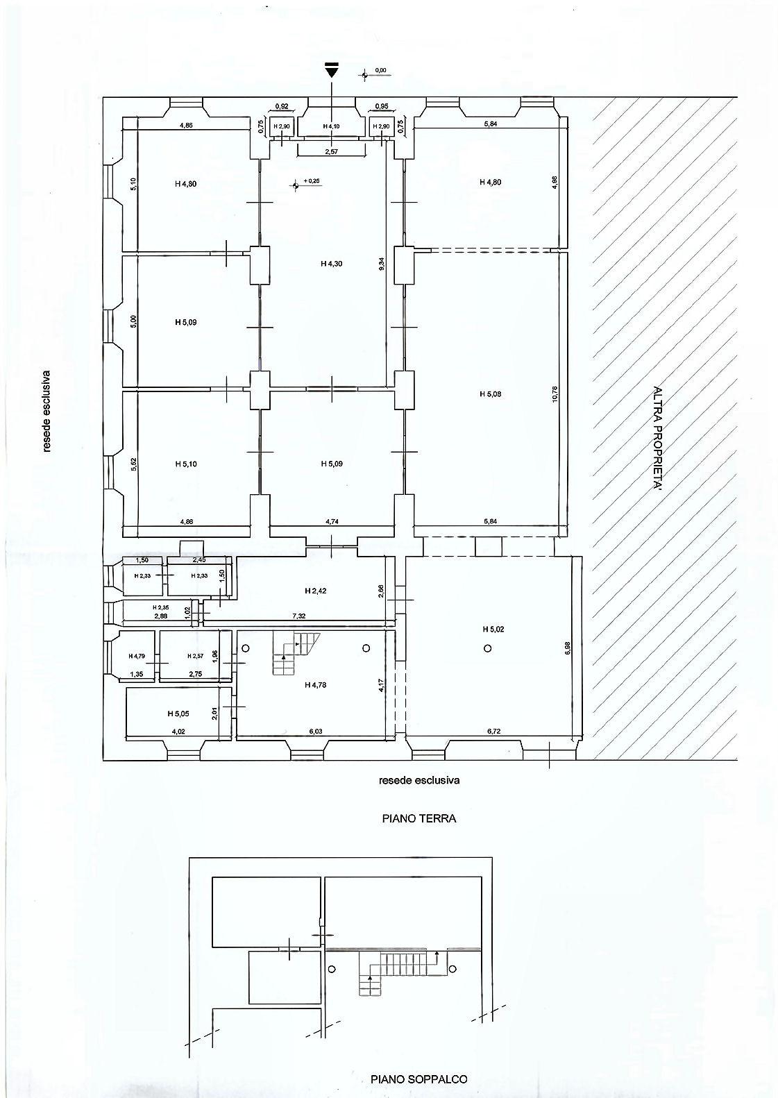 Planimetria 1/1 per rif. AF1730