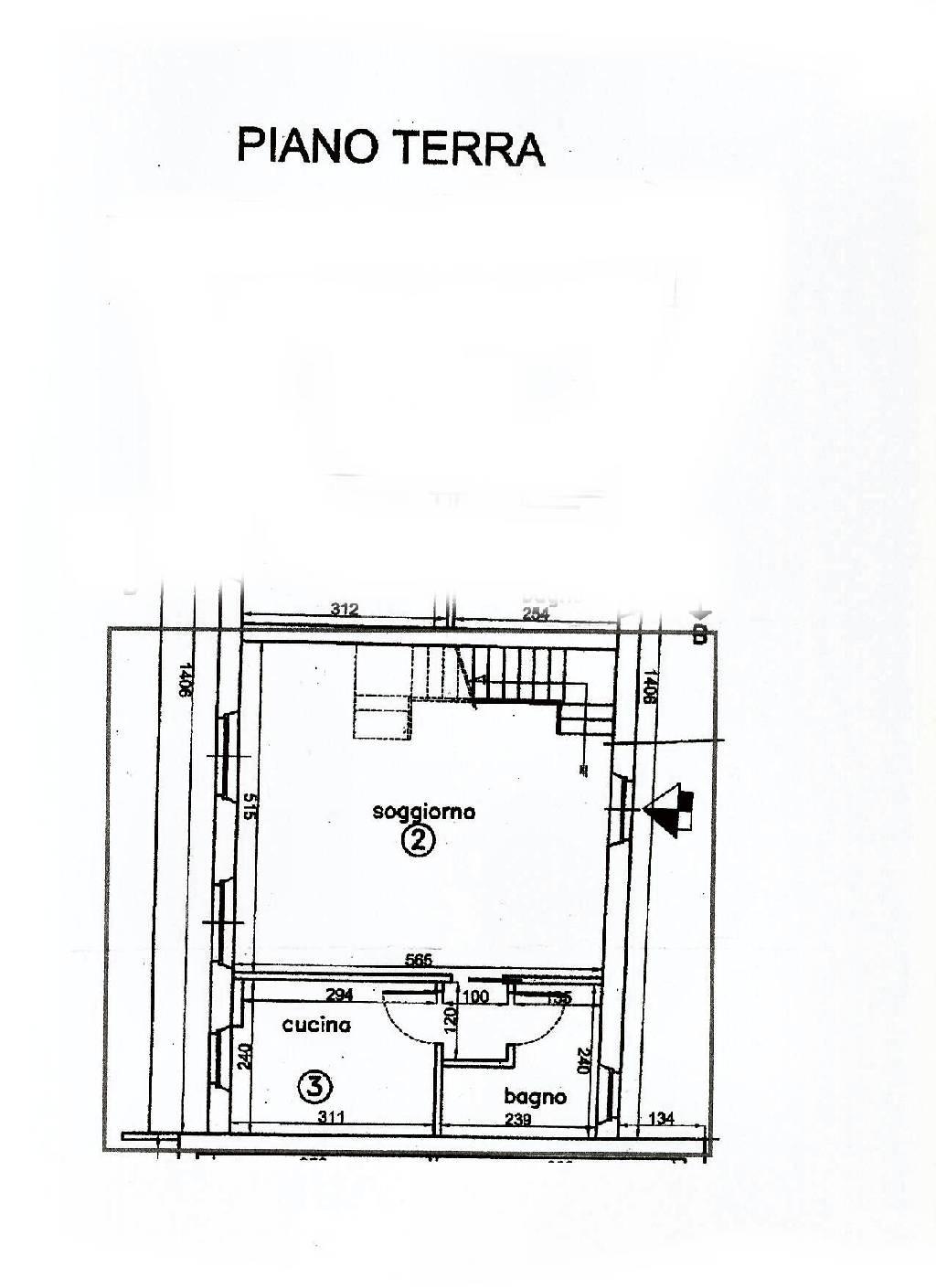 Planimetria 1/1 per rif. IA4593