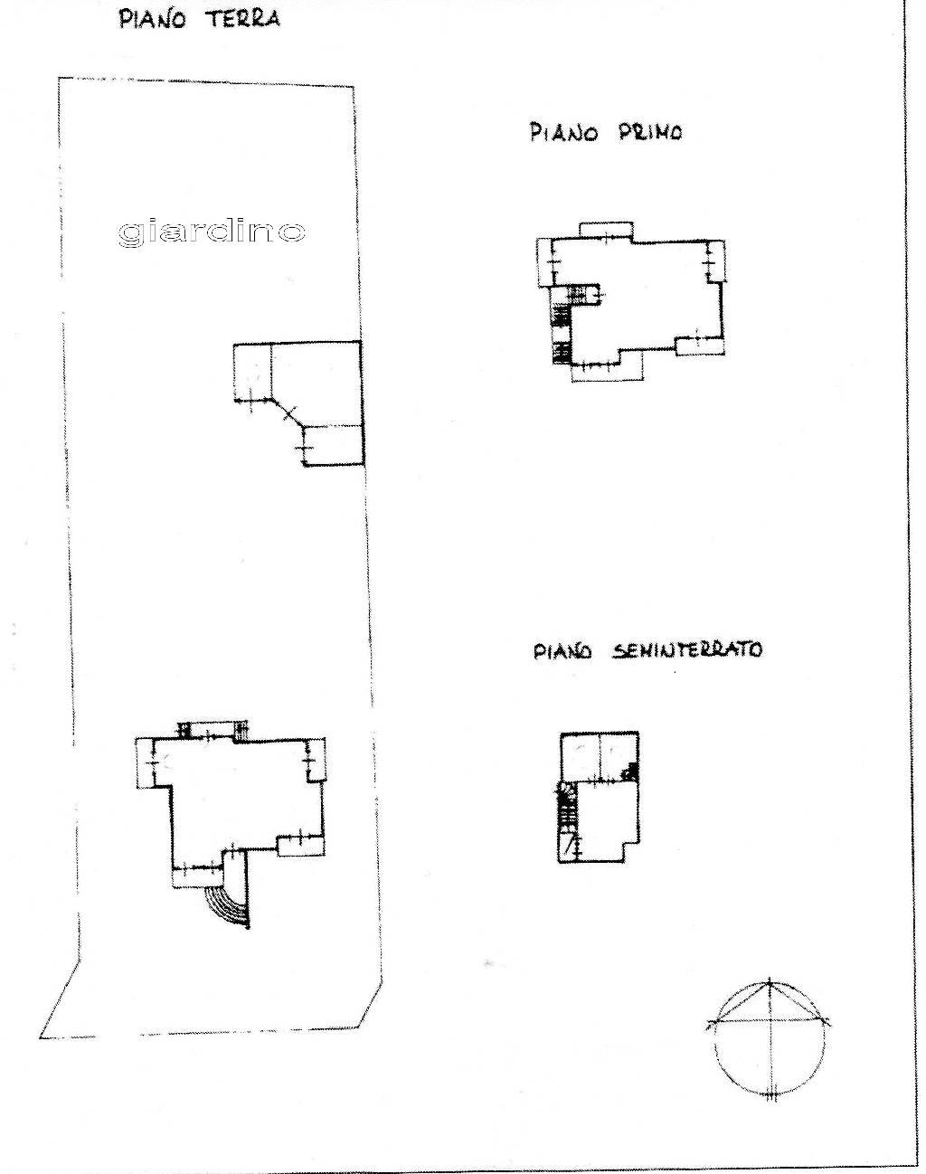 Planimetria 1/3 per rif. IA4568