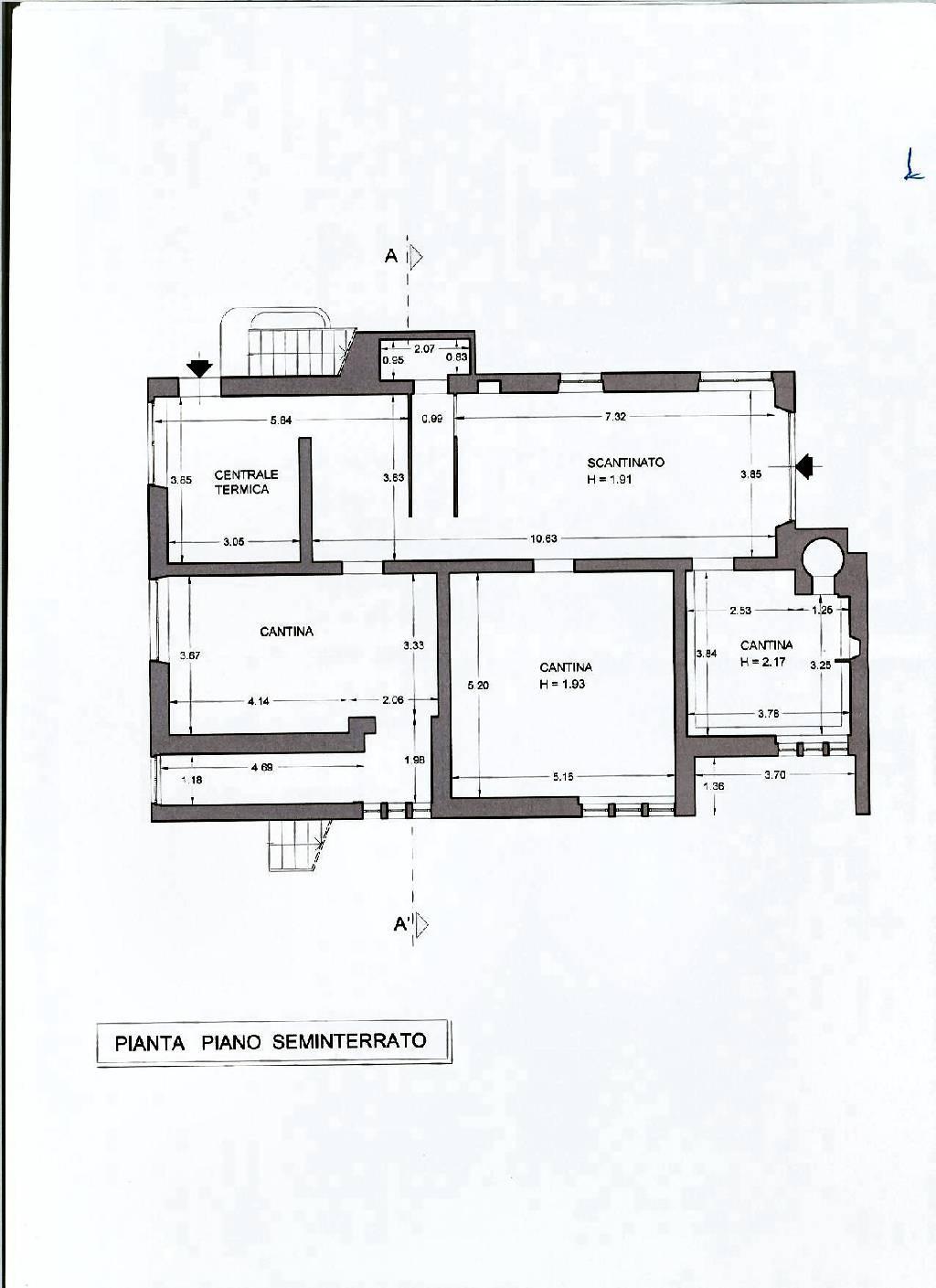 Planimetria 2/2 per rif. IA4528