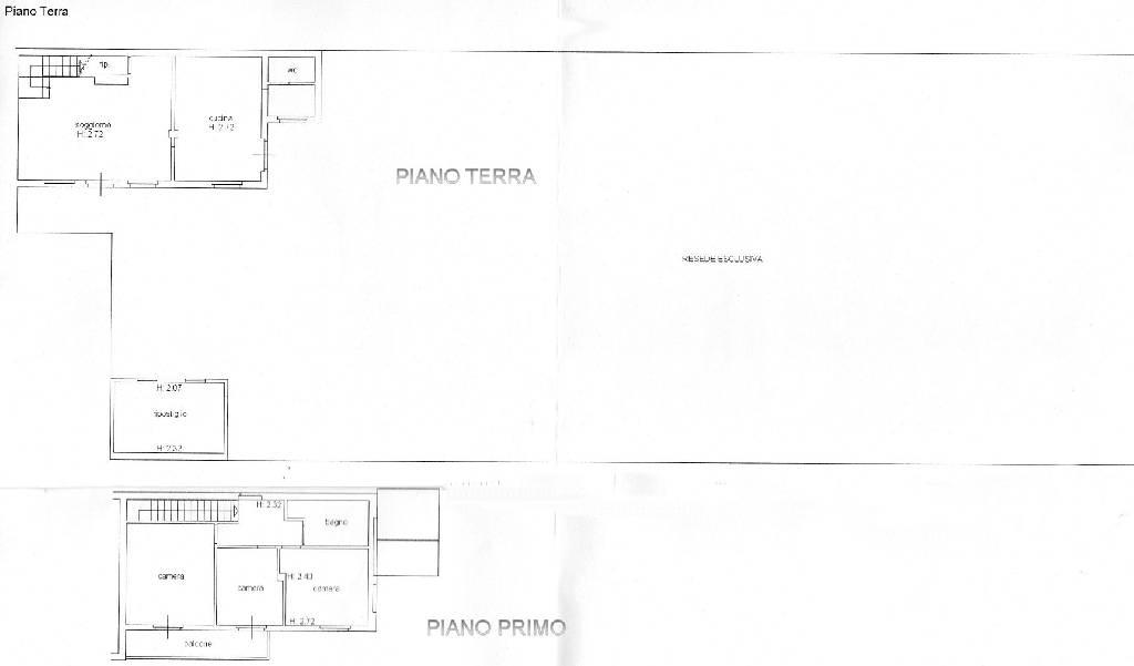 Planimetria 1/1 per rif. IA4515