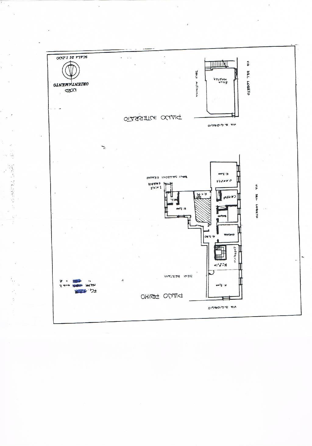 Planimetria 1/1 per rif. IA4159
