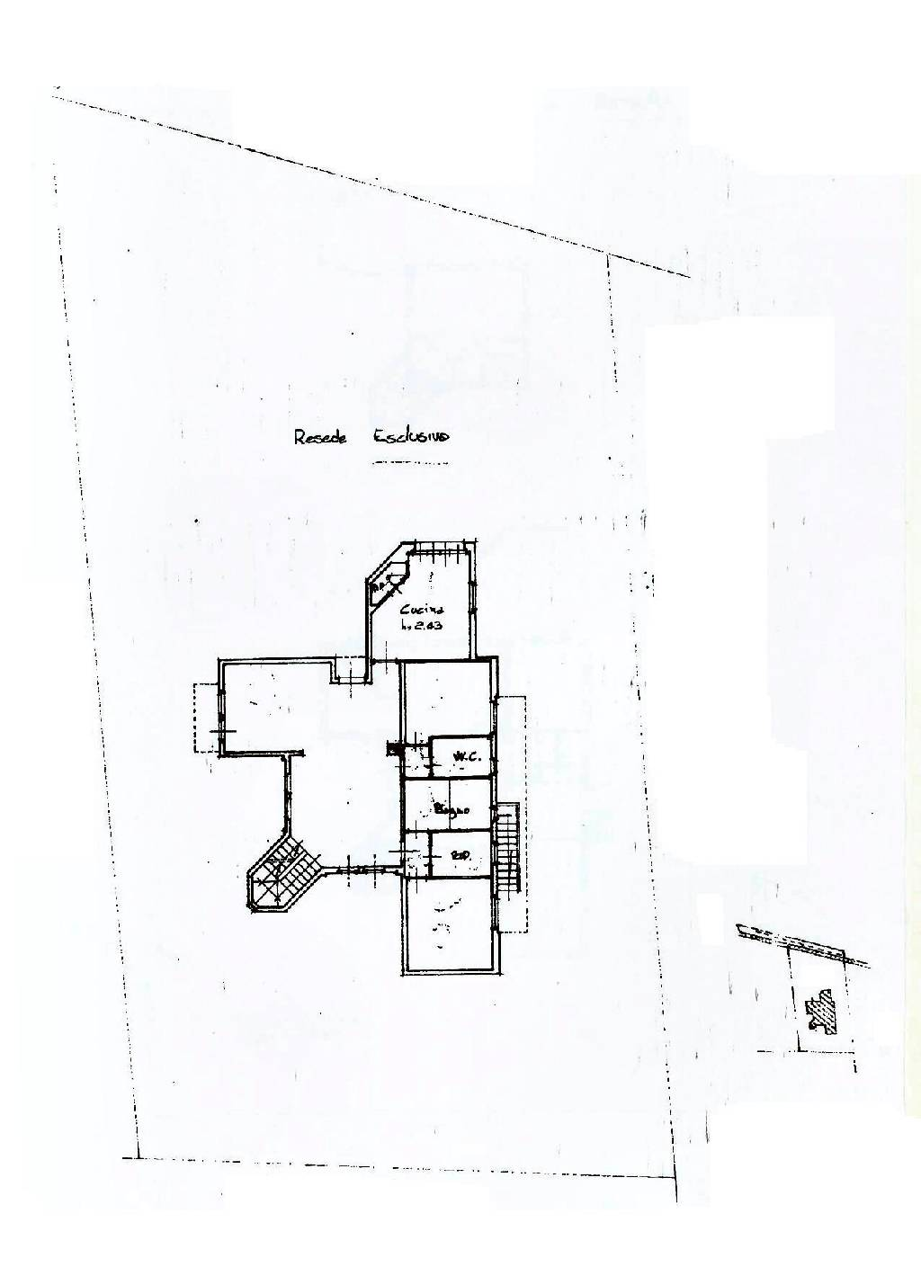 Planimetria 1/2 per rif. IA4128