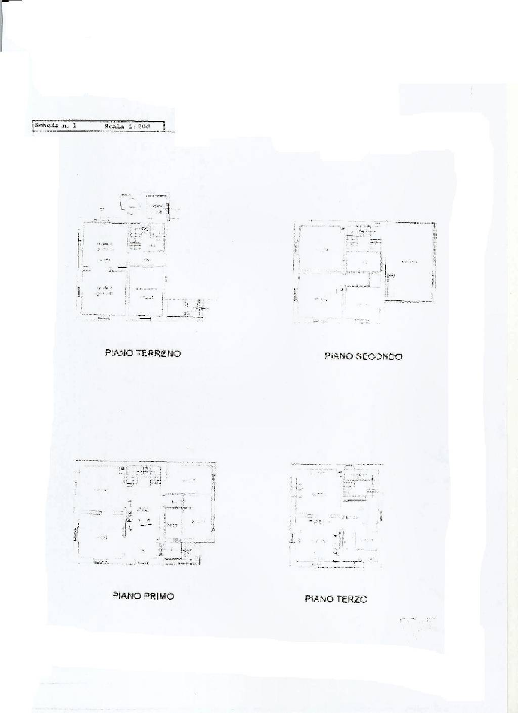 Planimetria 1/1 per rif. IA4078