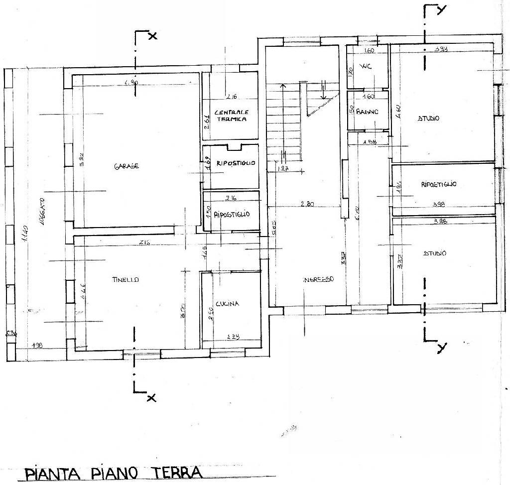 Planimetria 1/2 per rif. IA4039