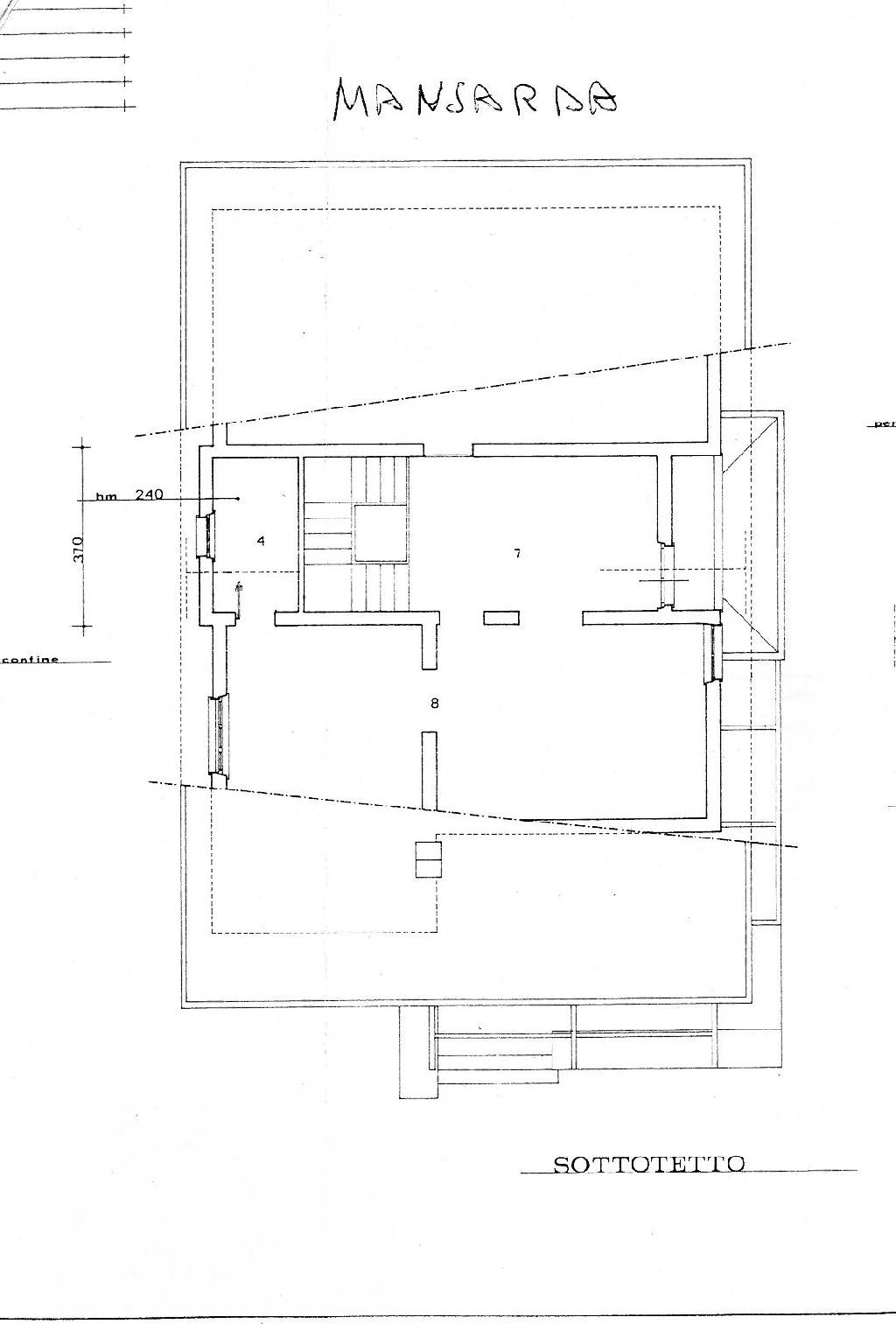 Planimetria 3/3 per rif. IA3737
