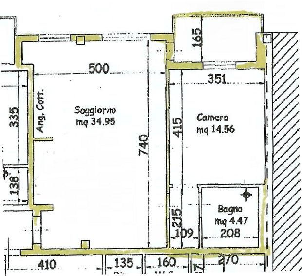 Planimetria 1/1 per rif. IA5100